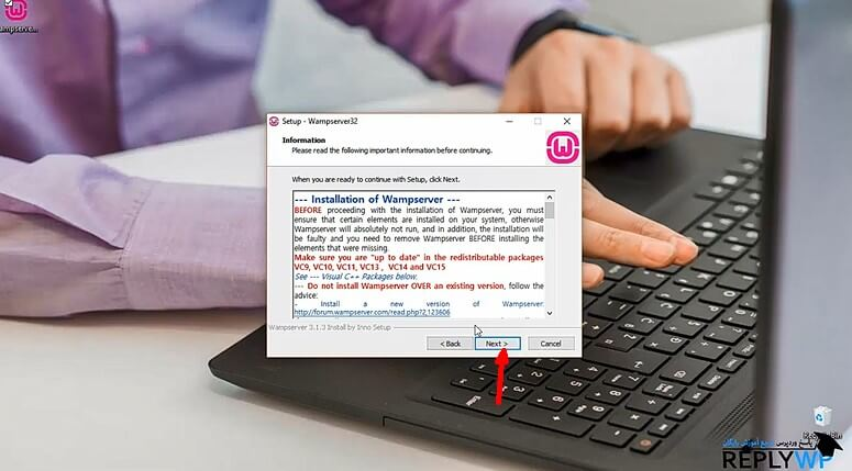 آموزش نصب wampserver روی ویندوز