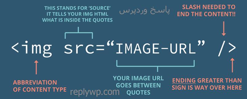 تگ img در html