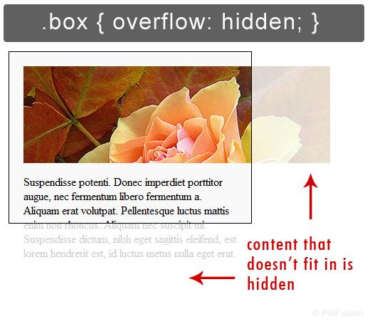 آموزش css آموزش ویژگی overflow در css